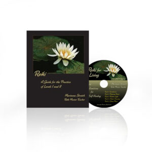 Reiki practice guide and CD by marianne streich reiki master teacher practitioner seattle wa