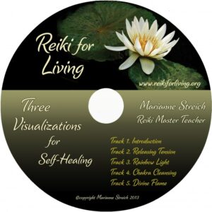 Three Visualizations for Self-Healing CD by marianne streich reiki master teacher practitioner seattle wa