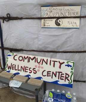 Wellness Tent